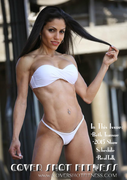 Cover Shot Fitness Magazine Issue 5 Featuring Beth Transue