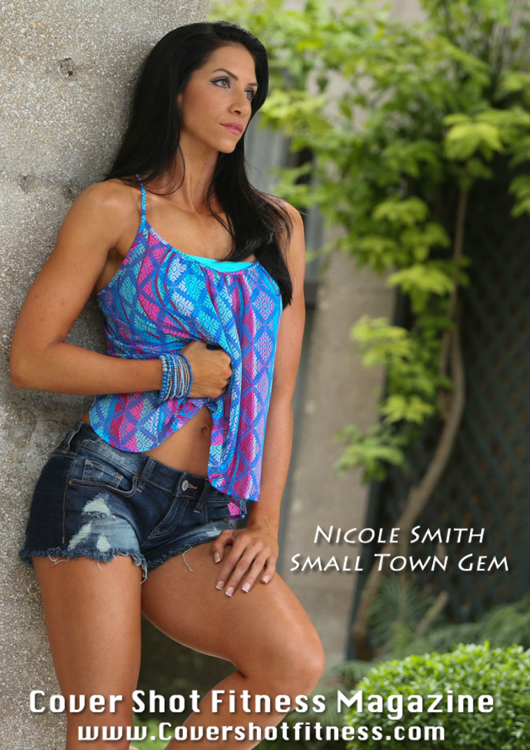 Cover Shot Fitness Magazine NIcole Smith Issue 20
