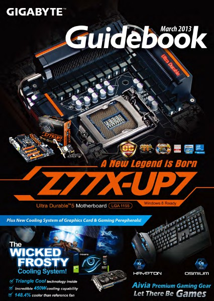 GIGABYTE Guidebook March. 2013
