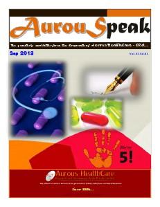 AurouSpeak - The quarterly newsletter from Aurous HealthCare CRO Vol 01 Ed 01