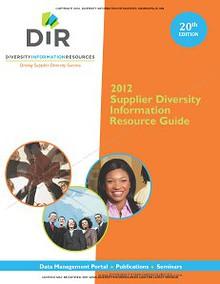 DIR's Supplier Diversity Information Resource Guide