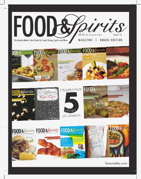 Food & Spirits Magazine #15