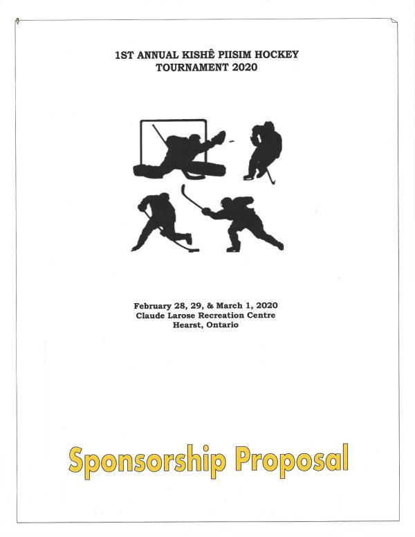 Kishe Piisim Events Sponsorship Proposal 2020 Kishe Piisim Updated Sponsorship Proposal 2020