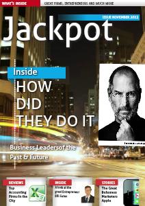Jackpot Nov 2012