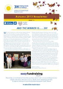 3H Autumn 2013 Newsletter Dec 2013