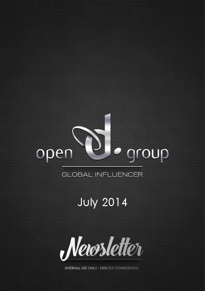 Internal Newsletter Asia July 2014