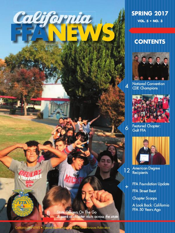 California FFA News Spring 2017