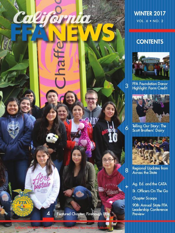 California FFA News Winter 2017