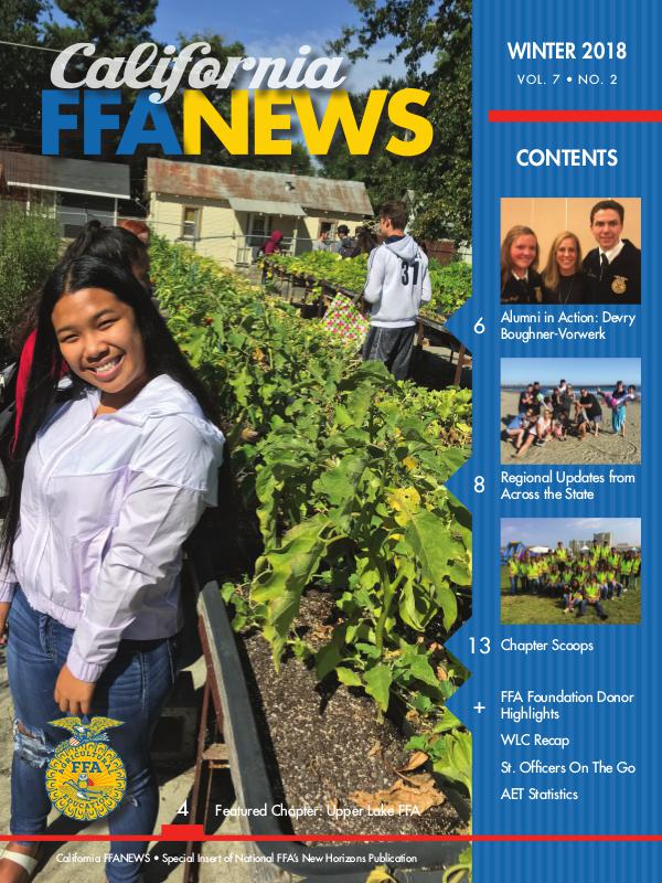 California FFA News Winter 2018