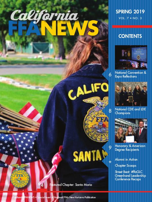 California FFA News Spring 2019