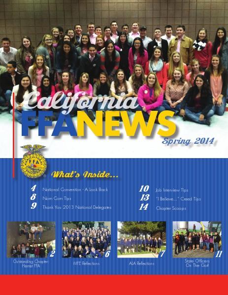 California FFA News Spring 2014