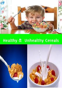 Healthy cereals & Unhealthy cereals Dec.13