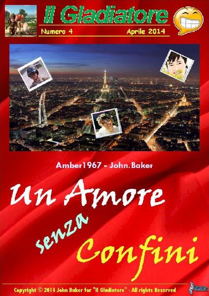 """Un Amore senza Confini . Numero speciale de """"Il Gladiatore"""""""