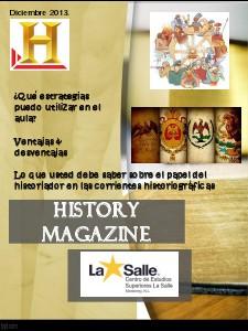 History Magazine Noviembre 2013 Diciembre 2013