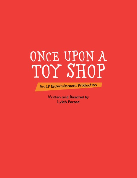 Once Upon a Toy Shop LP Entertainment Presents