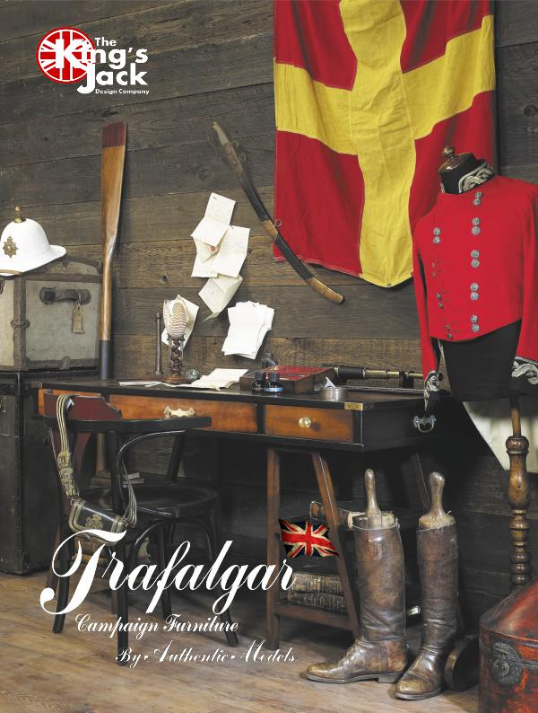 King's Jack - Trafalgar Campaign Furniture Trafalgar Nautical Furniture