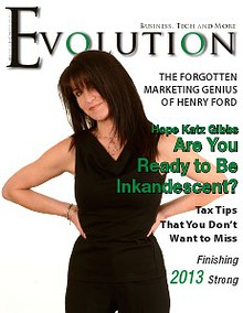 Evolution Magazine December 2013