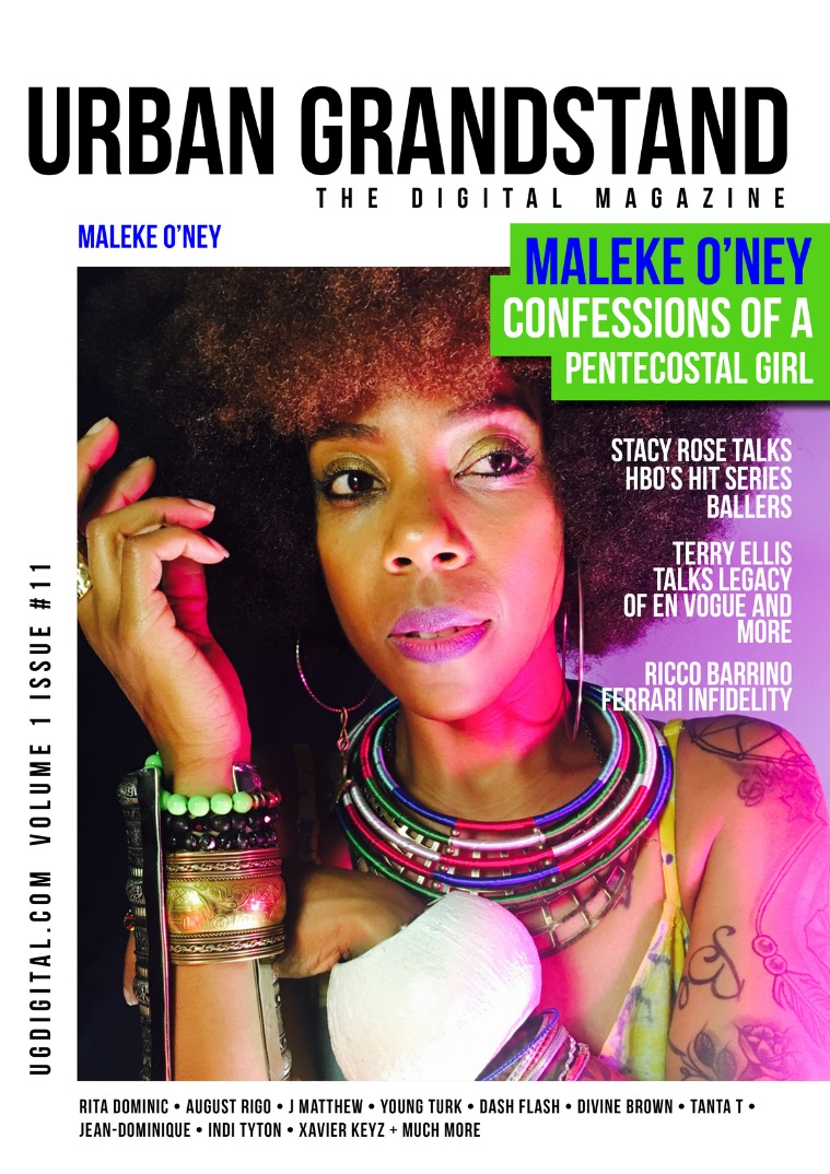 Urban Grandstand Digital Issue 11: Maleke O'ney