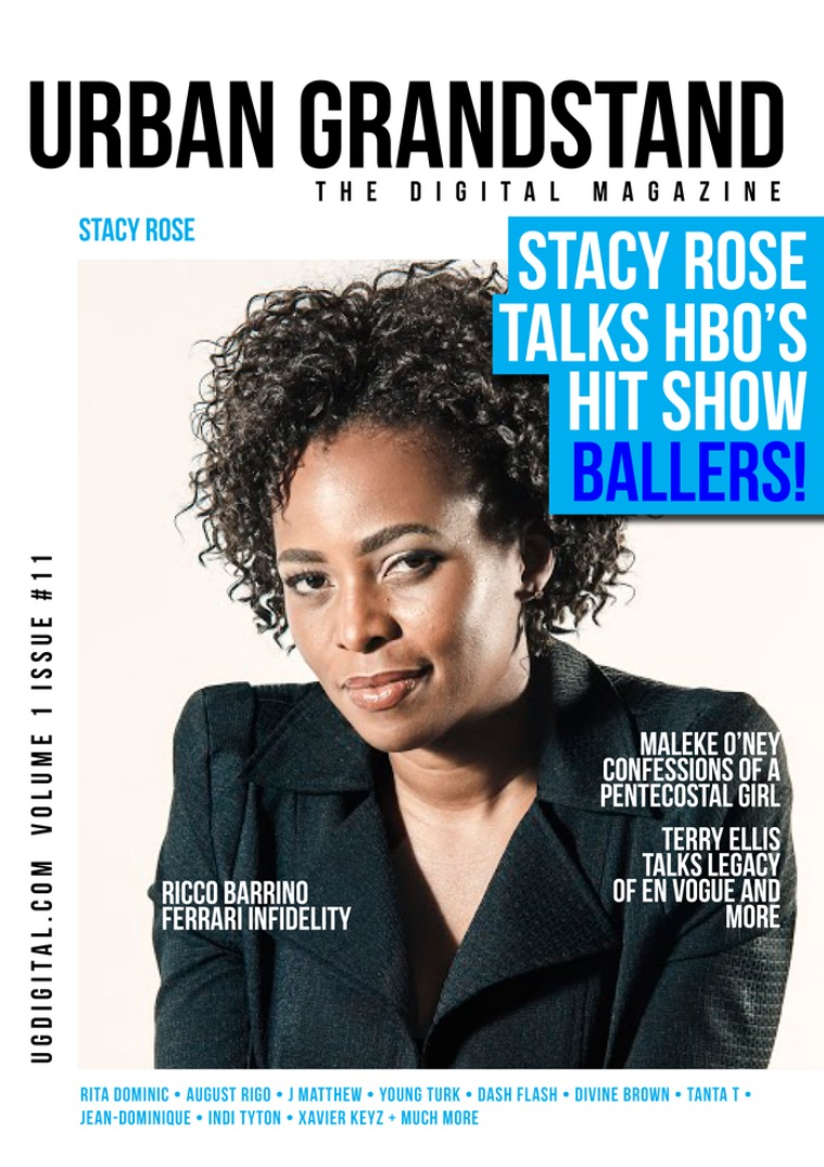 Urban Grandstand Digital Issue 11: Stacy Rose