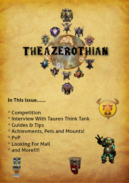 The Azerothian New Beginnings