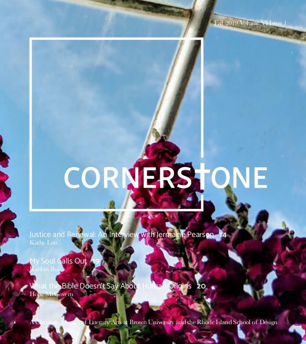 Cornerstone Magazine Fall 2019 Fall 2019online
