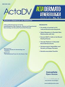 Acta Dermato-Venereologica Issue No. 97-5