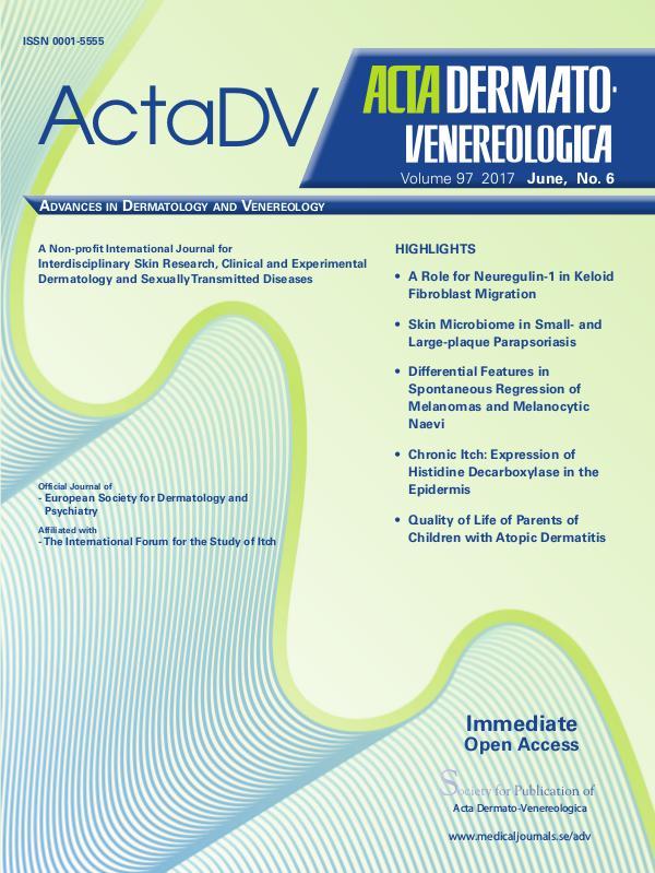 Acta Dermato-Venereologica 97-6 97-6CompleteContent