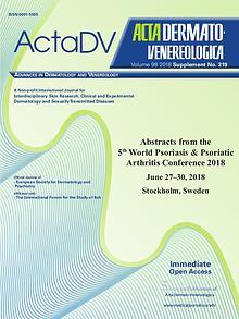 Acta Dermato-Venereologica Suppl 219