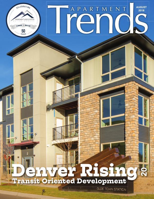 Apartment Trends Magazine August 2018