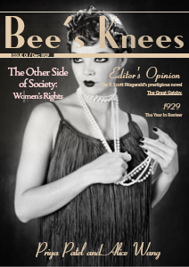 Bee's Knees Dec. 1929