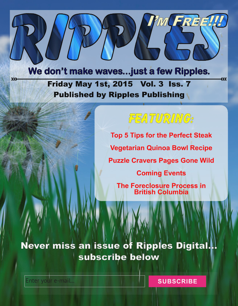 Ripples Digital -   Vol. 3 Iss. 7 May 2015