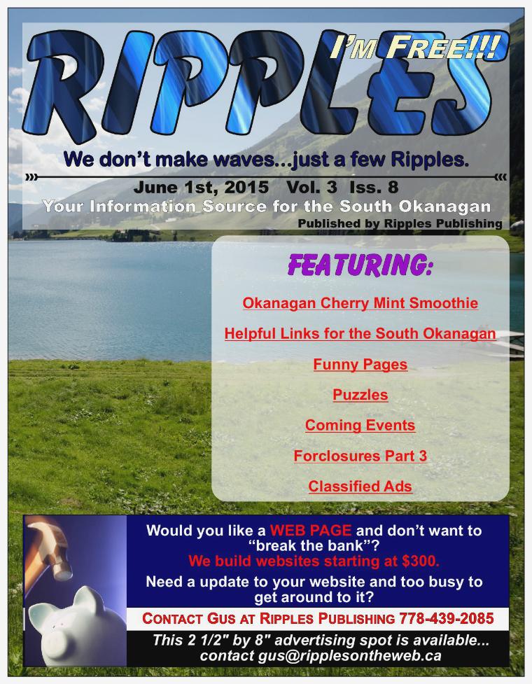 Ripples Digital Vol. 3 Iss. 8 June 2015