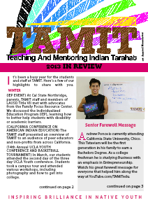TAMIT Annual News Letter 1