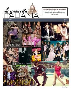 La Gazzetta Italiana 14   15   16 Fashion