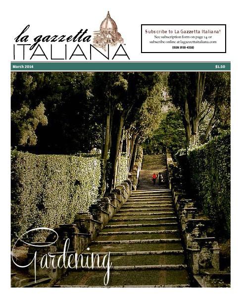 La Gazzetta Italiana 14 | 15 | 16 Gardening