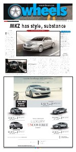 Weekly automotive section from the Waco Tribune-Herald. Feb. 2014