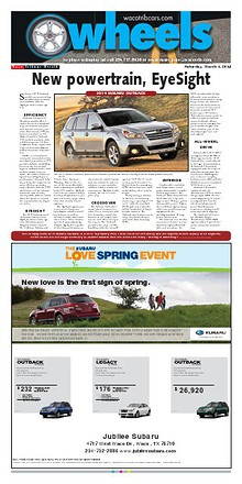 Weekly automotive section from the Waco Tribune-Herald.