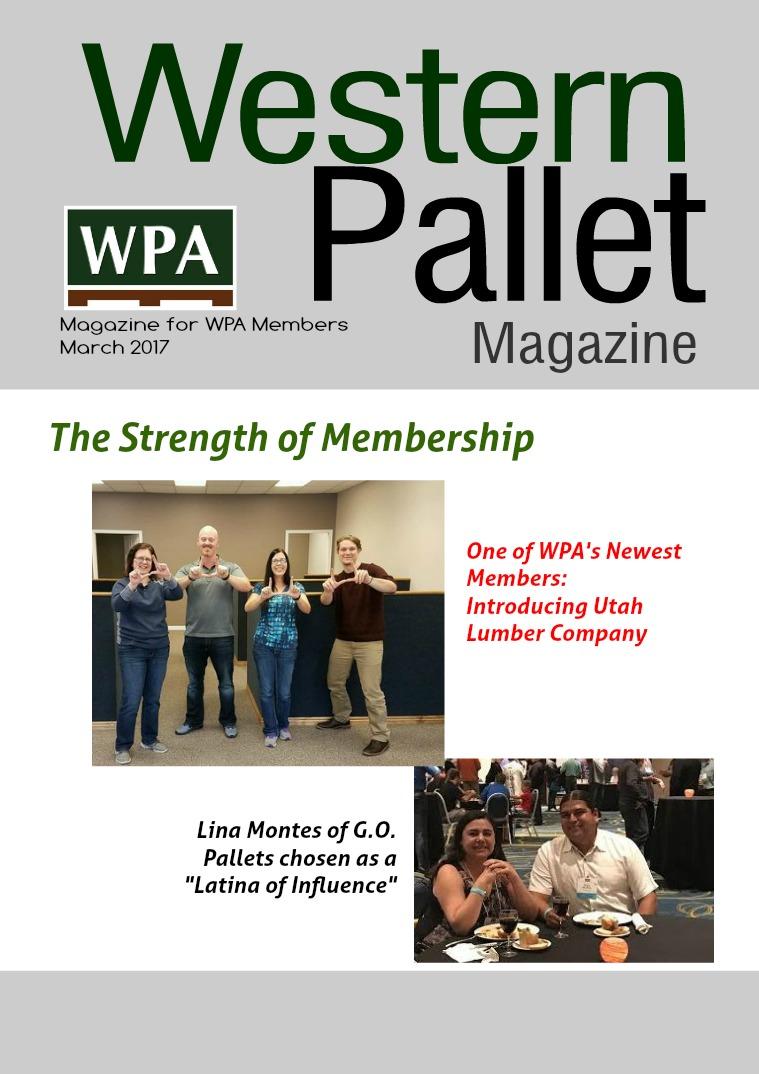 Western Pallet Magazine March 2017