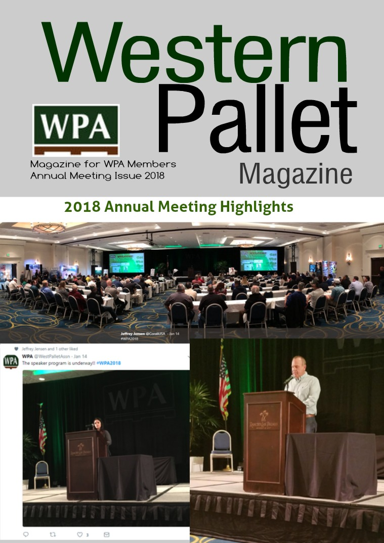 Western Pallet Magazine Annual Meeting Issue
