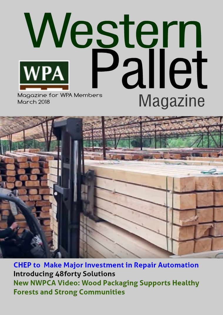 Western Pallet Magazine March edition 2018