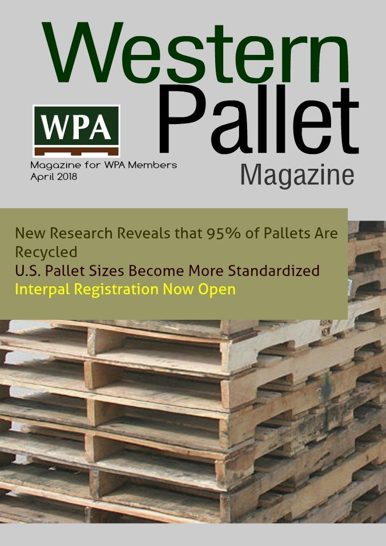 Western Pallet Magazine April edition 2018