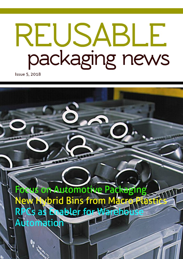 Reusable Packaging News No. 5, 2018