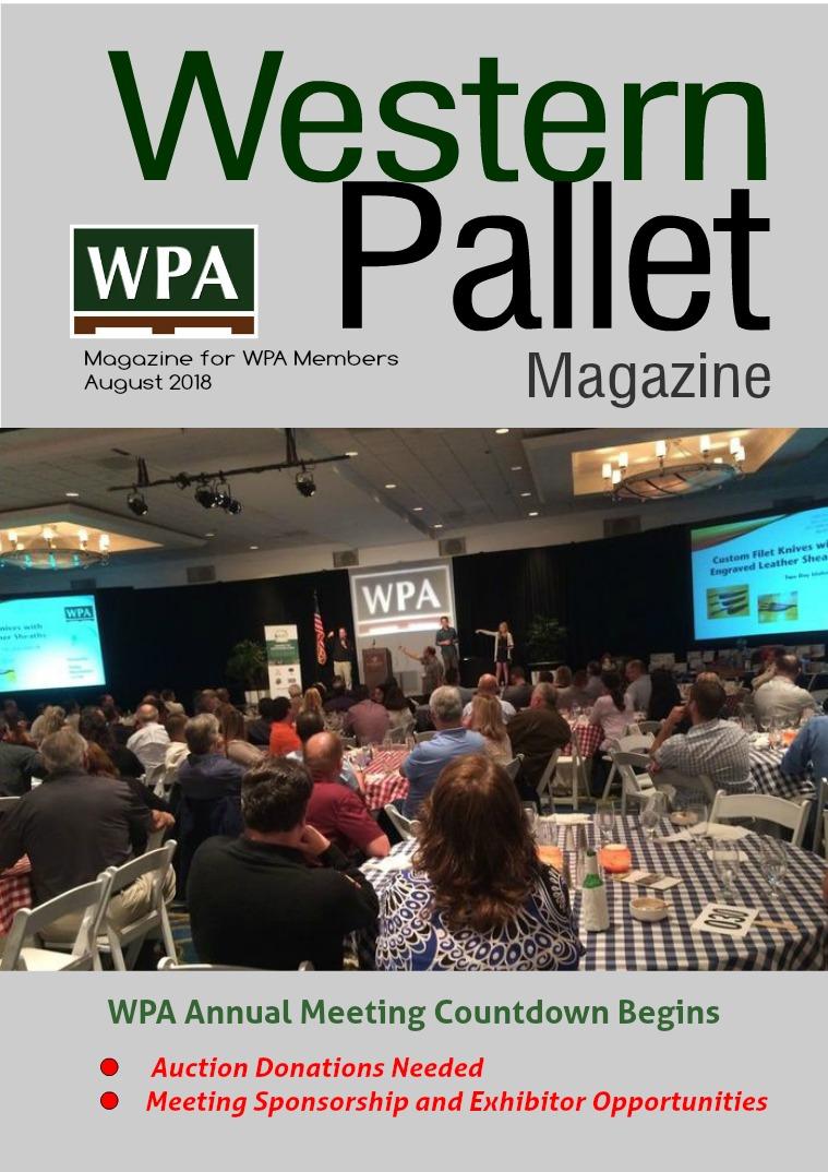 Western Pallet Magazine August 2018