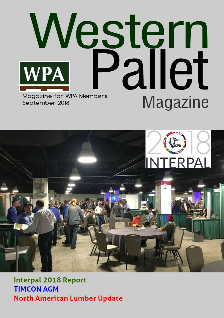 Western Pallet Magazine September 2018