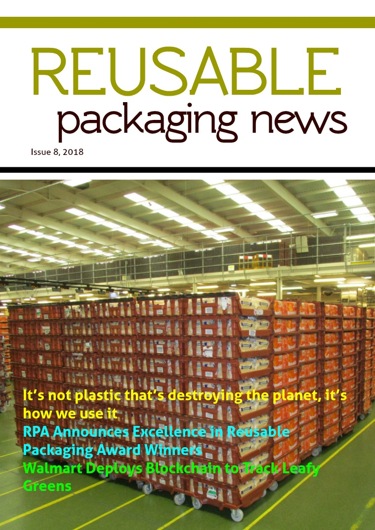Reusable Packaging News No. 8, 2018