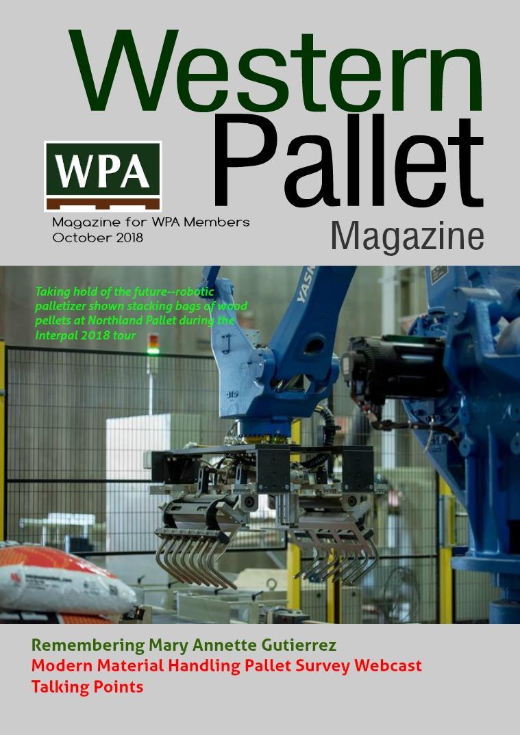 Western Pallet Magazine October 2018