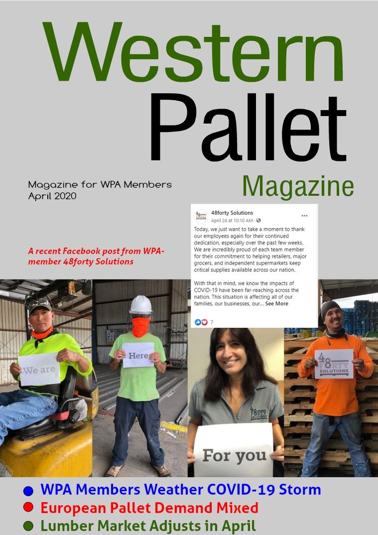 Western Pallet Magazine April