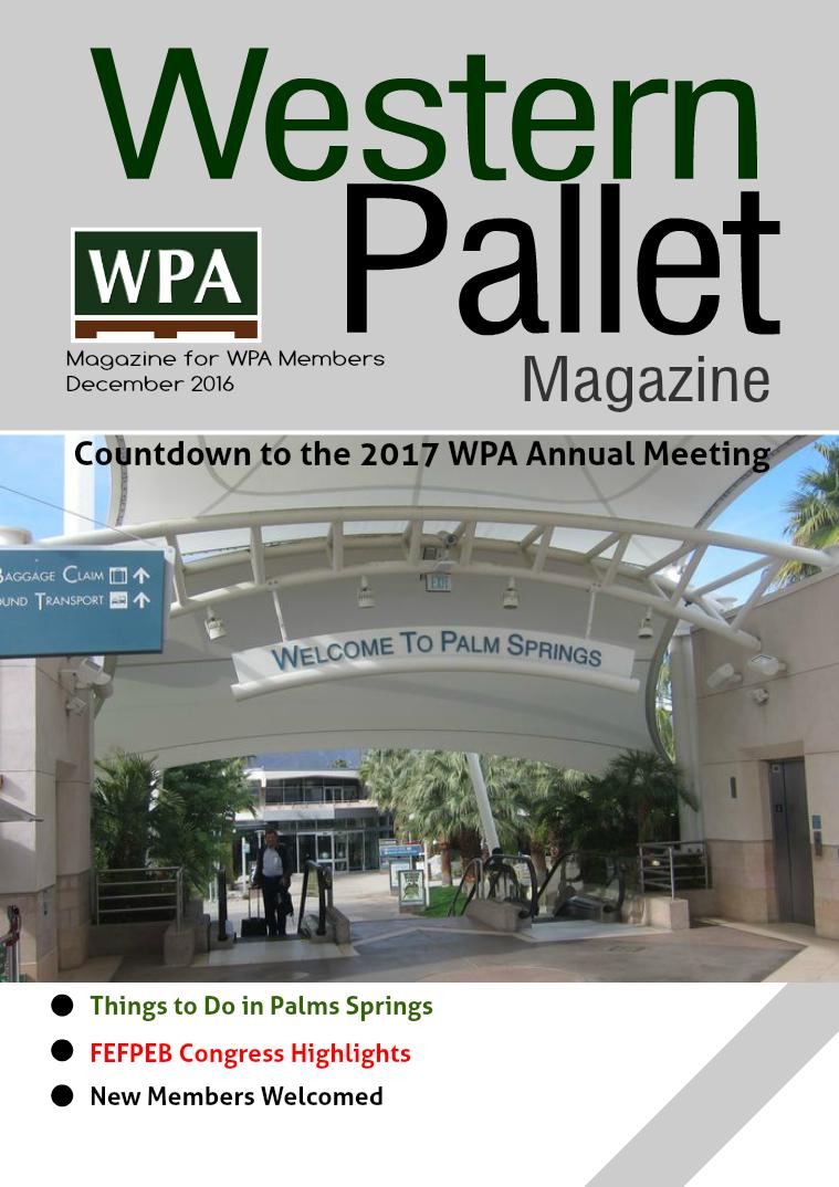 Western Pallet Magazine December 2016