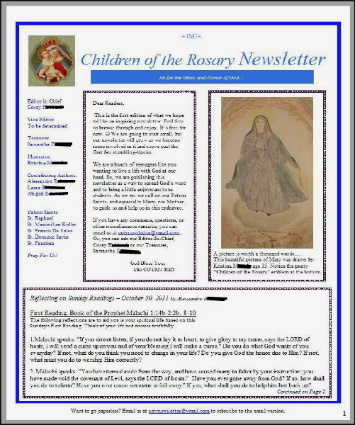 Children of the Rosary 1