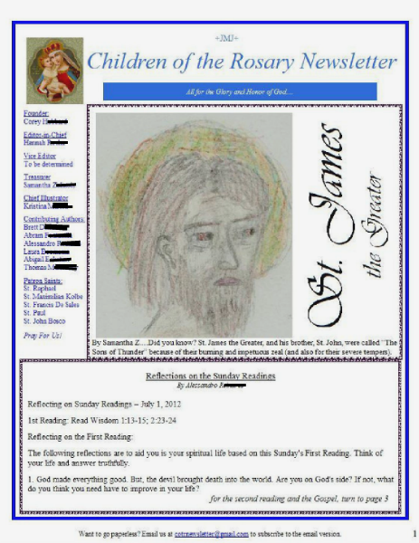 Children of the Rosary 6